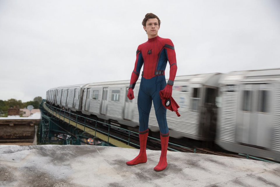 Tom Holland Unveils 'Spider-Man: Far From Home' Movie Poster