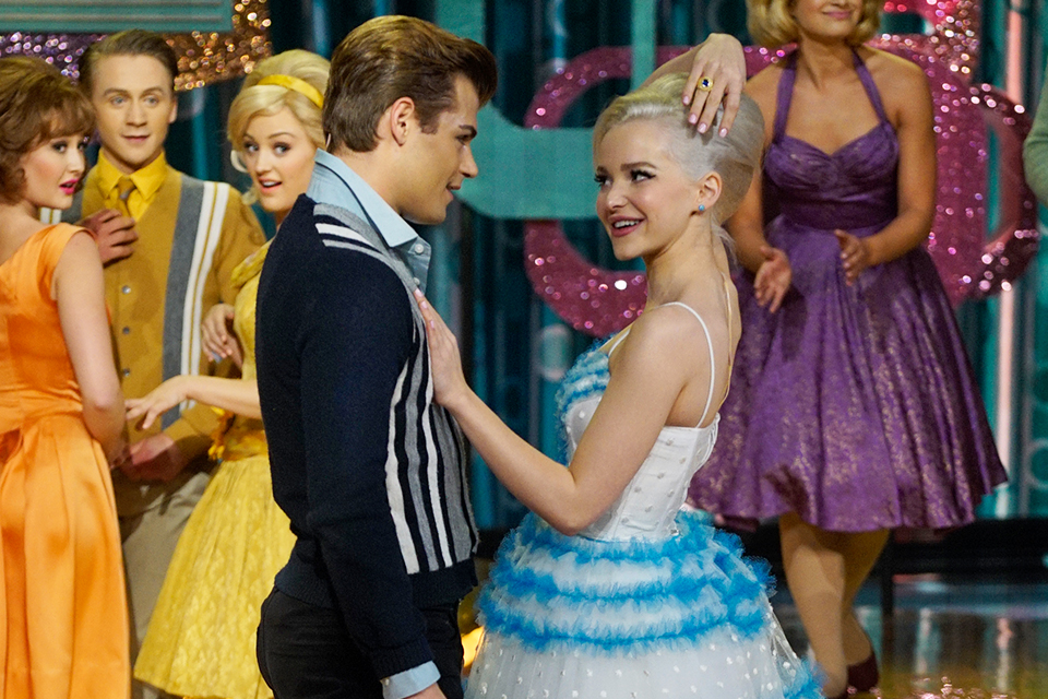 Dove Cameron and Garrett Clayton Are the 'Nicest Kids in Town' on 'Hairspray Live!'
