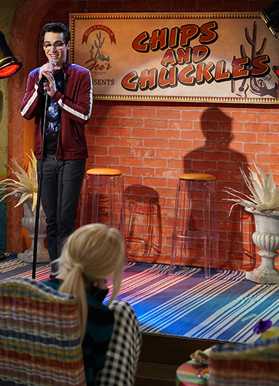 liv and maddie standup a rooney