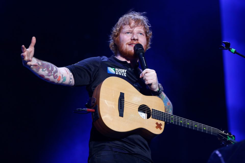 Ed Sheeran Performs 'Castle on the Hill'
