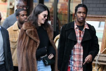 Kendall Jenner and A$AP Rocky Reunited in Paris
