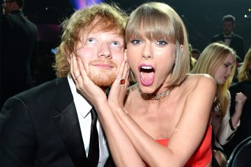 Ed Sheeran Joins Taylor Swift Onstage At Jingle Ball