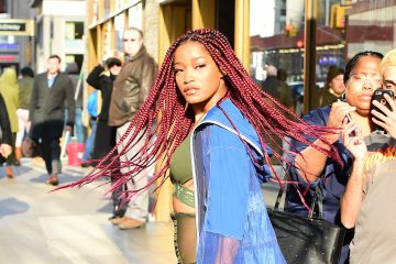 Keke Palmer Gets a Major Hair Transformation