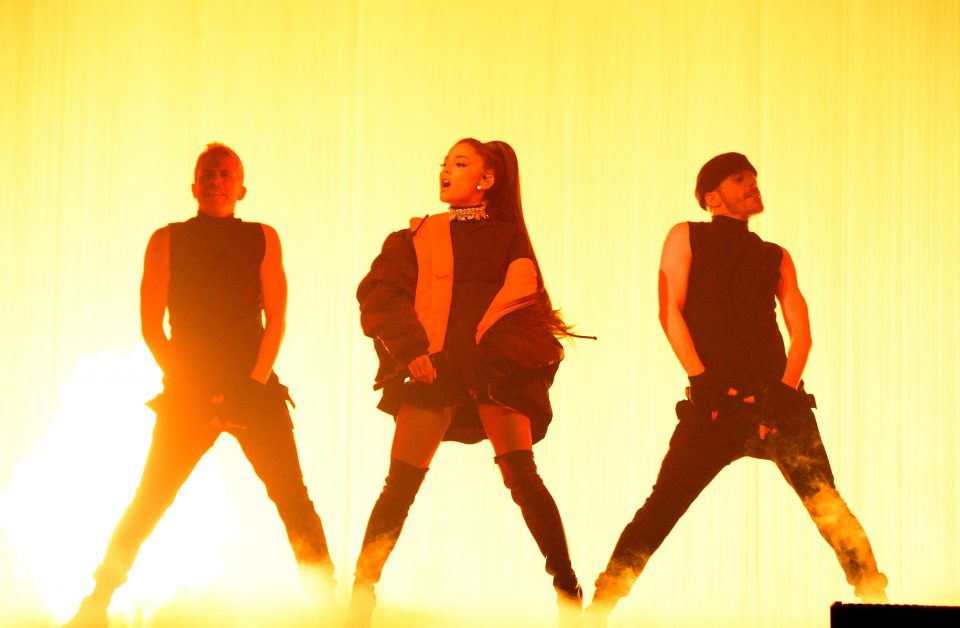 the best moments from ariana grandes dangerous woman