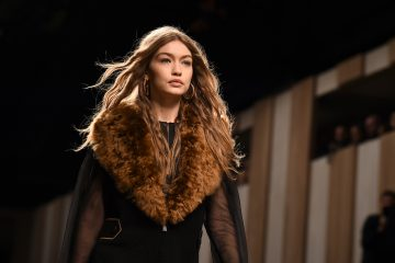 Gigi Hadid Almost Fell On the Runway