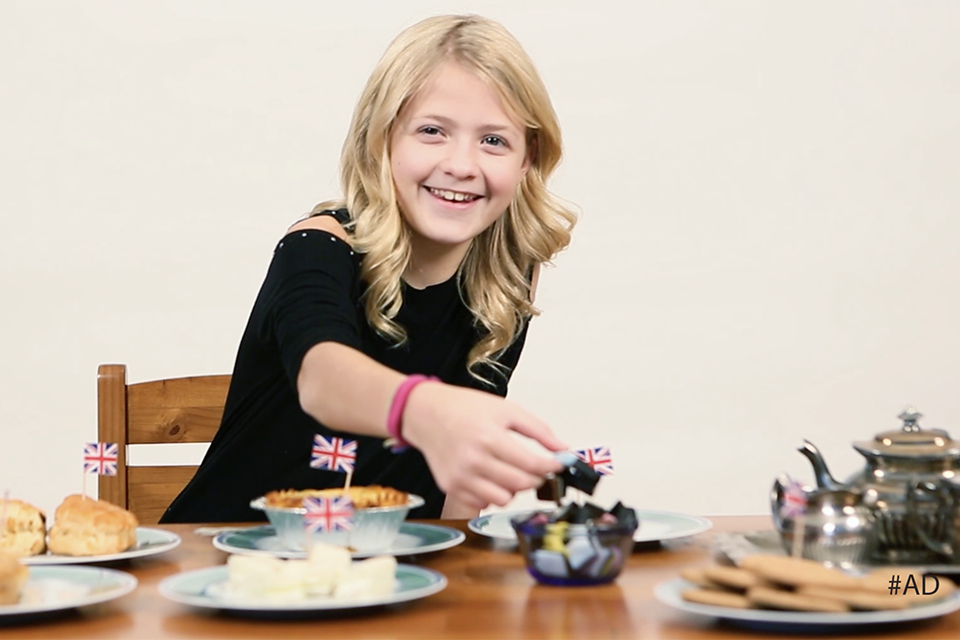 Kids Try Classic British Foods