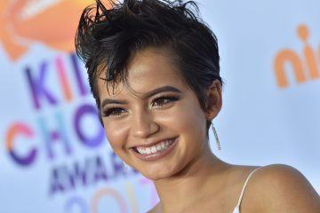 Isabela Moner Made a Cute New Friend in Peru