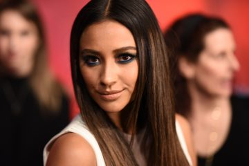 Shay Mitchell Serves Prom Inspo with Teal Smokey Eye