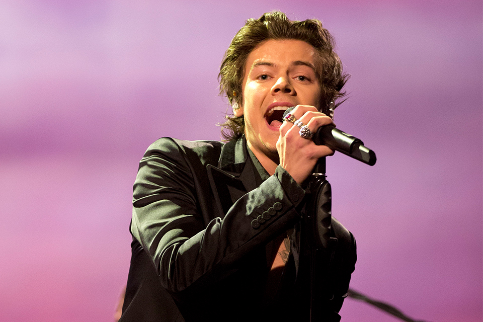 Harry Styles Rolling Stones Photoshoot 2018