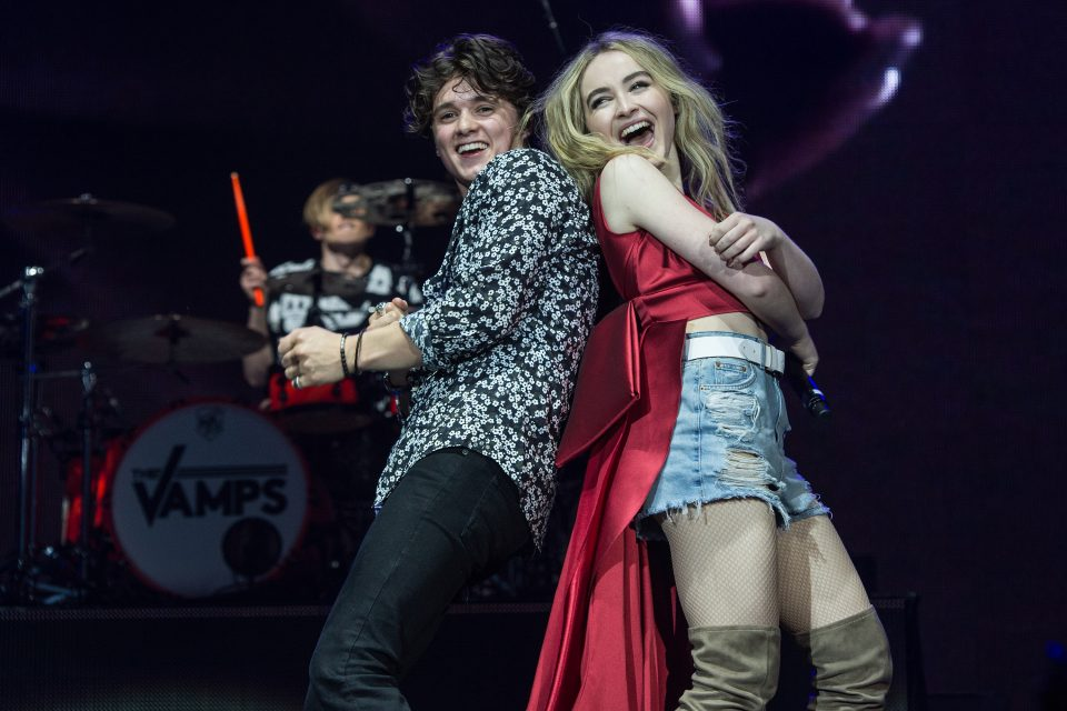 Sabrina Carpenter and The Vamps Team Up For 'Hands'