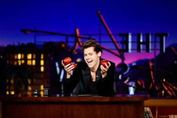 Harry Styles Fills In As Late Late Show Host