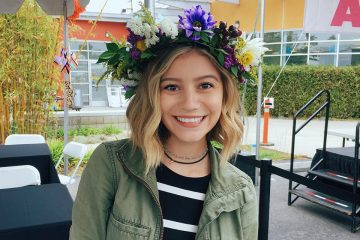 G. Hannelius Celebrates Graduating From High School