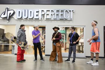 Nickelodeon's 'The Dude Perfect Show' Will Have an Even Crazier Second Season