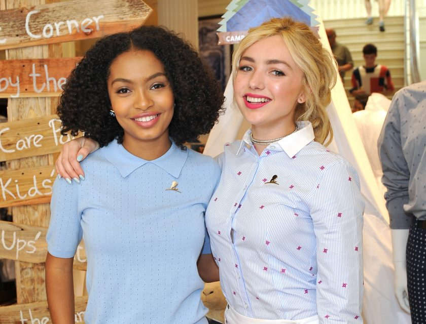 peyton list hangs out with famous friends tigerbeat