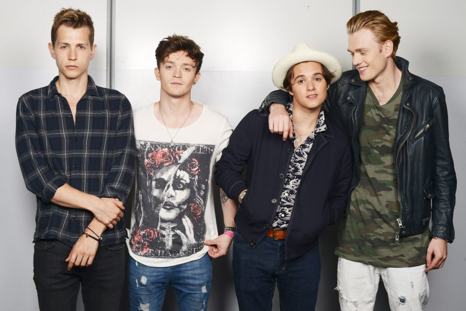 The Vamps Tease 'Just My Type' Music Video