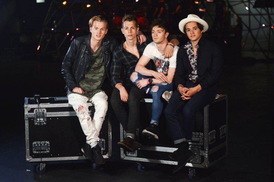 The Vamps' Biggest Fans Can't Stop Watching The 'Just My Type' Music Video