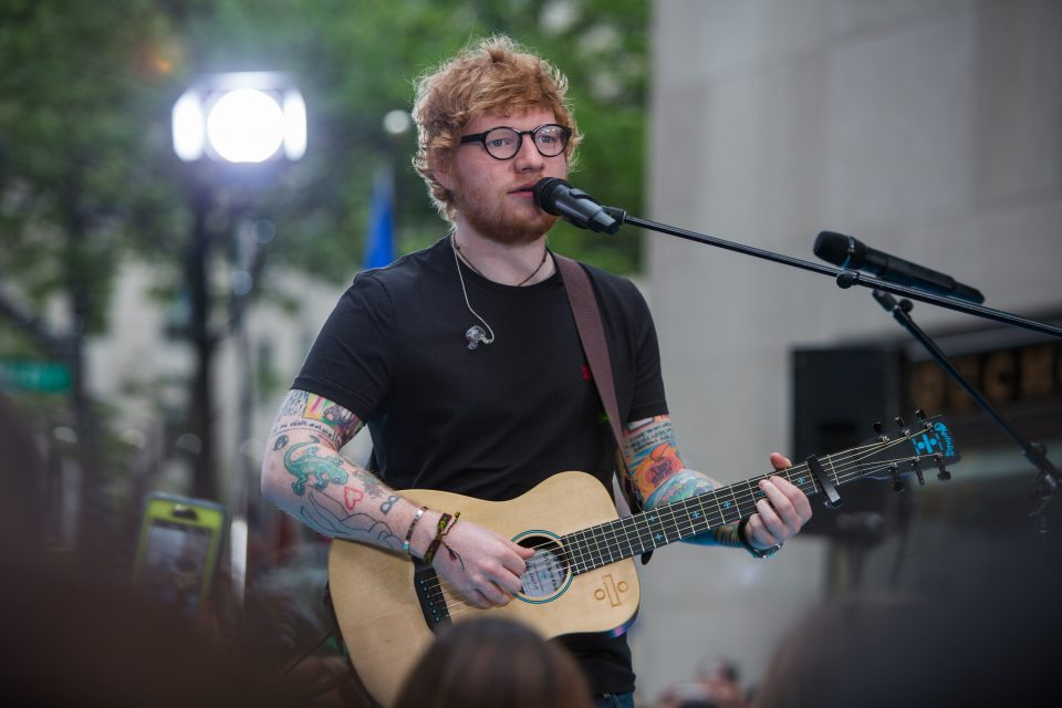 Ed Sheeran Cancels His Upcoming Shows