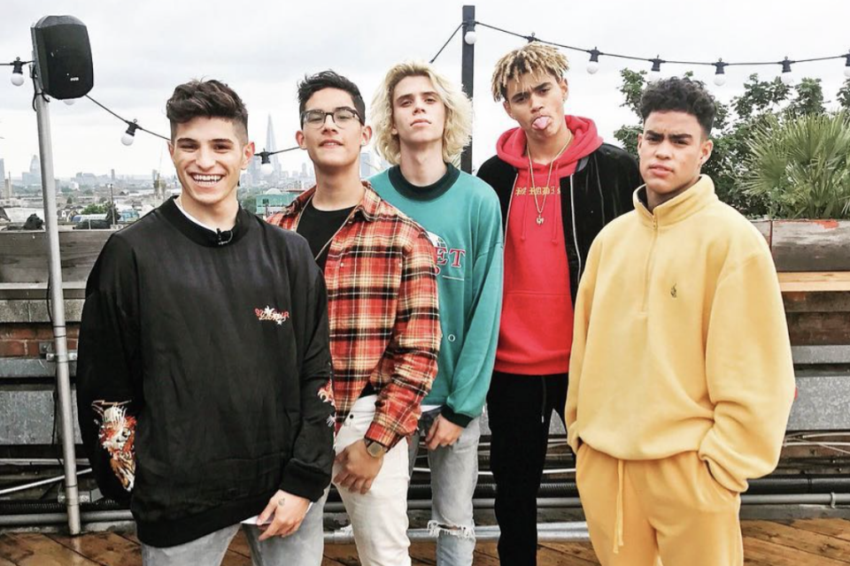 Behind-the-Scenes of PRETTYMUCH's 'Would You Mind' Music Video