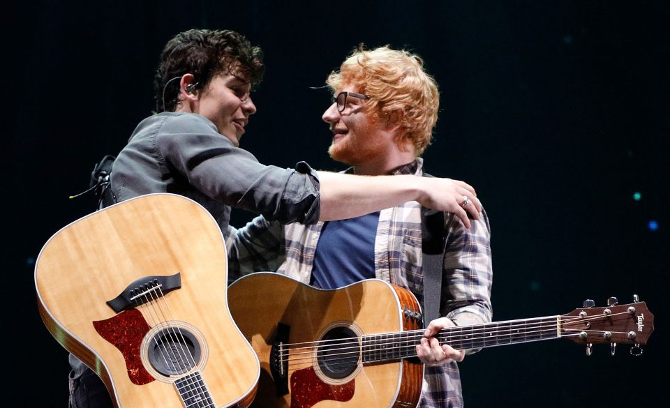 Shawn Mendes and Ed Sheeran Perform a 'Mercy' Duet!