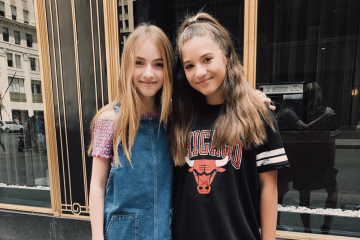 Lauren Orlando Teases Behind-the-Scenes 'Total Eclipse' Pics with Mackenzie Ziegler
