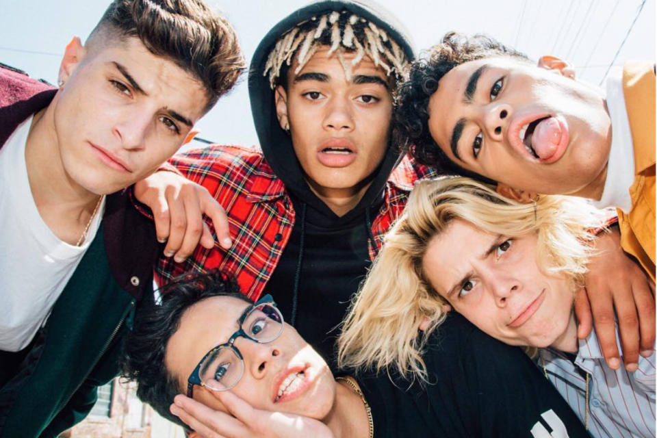 PRETTYMUCH Reveals Their Backstage Pre-Show Ritual