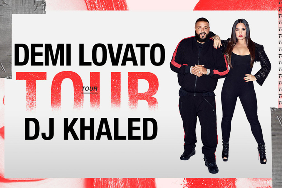 Demi Lovato Announces a Tour With DJ Khaled