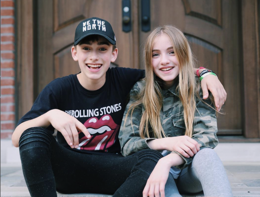 9 Times Lauren and Johnny Orlando Proved Siblings Can Be BFFs