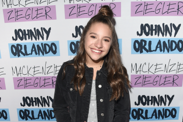 Mackenzie Ziegler Gets Silly in Germany with Kylee Renee
