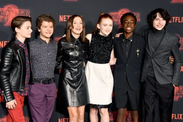 The Cast of 'Stranger Things' Stuns at the 2018 Emmy Awards