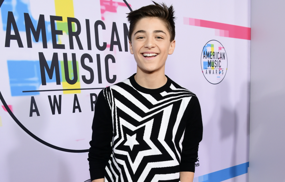 Asher Angel Teases Fans from Behind-the-Scenes of New Movie 'Shazam!'