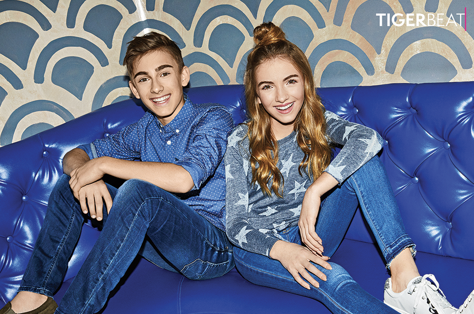 Johnny & Lauren Orlando's TigerBeat Cover Shoot: Behind-the-Scenes