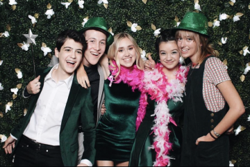 Jenna Ortega, Milo Manheim and More Disney Channel Stars Attend the 2018 Emerald Ball
