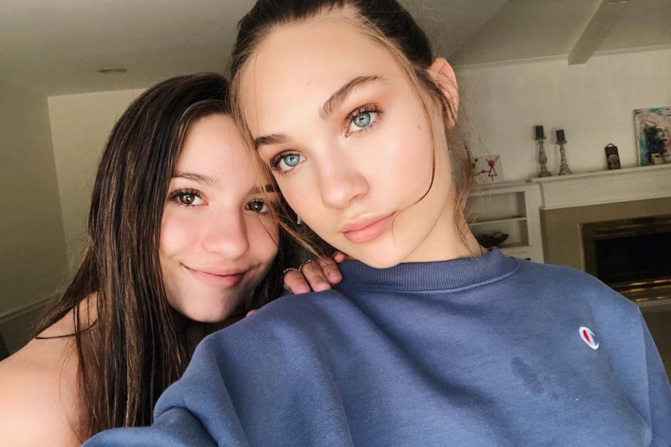 Maddie and Mackenzie Ziegler Give Beauty Guru James Charles a Makeover