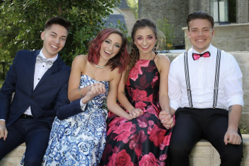 Brooklyn and Bailey Bring Fans Along For Their Senior Prom Experience