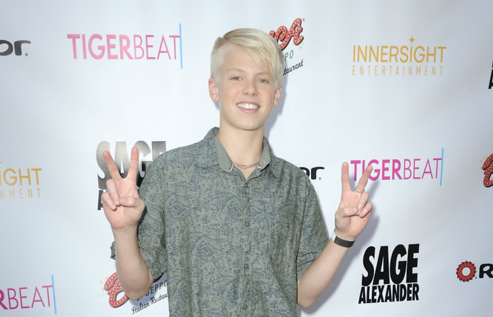 Carson Lueders, Jayden Bartels and More Celebrate the Premiere of 'Sage Alexander: The Dark Realm'