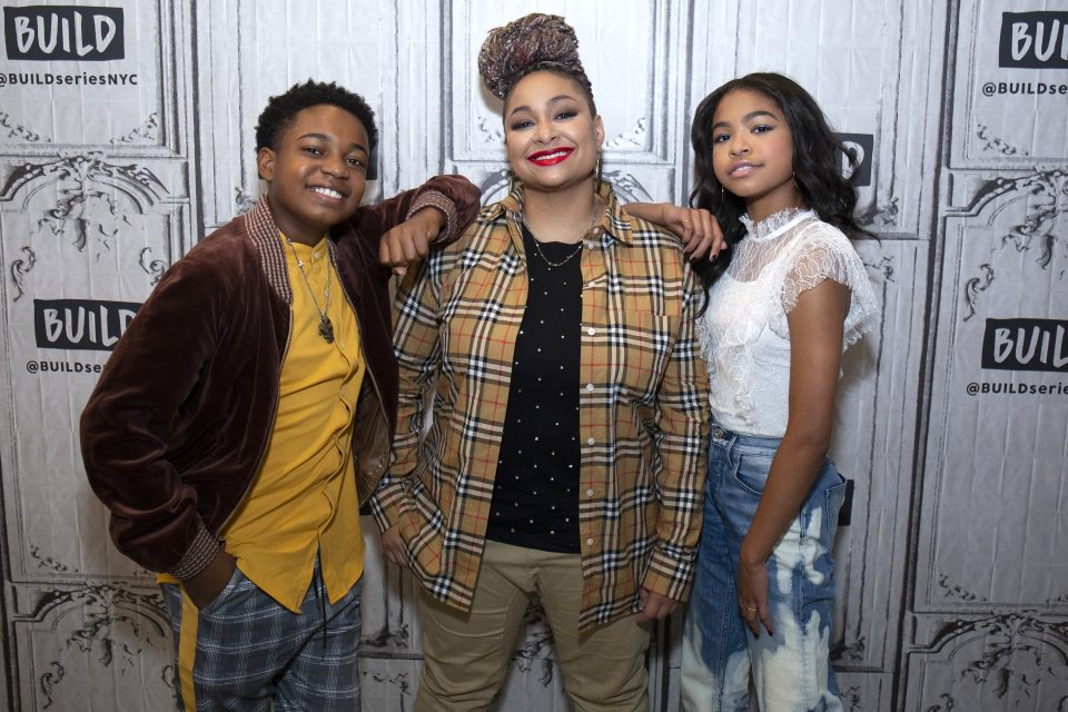 EXCLUSIVE: Navia Robinson and Issac Ryan Brown Dish On Upcoming 'Raven's Home' Musical Episode
