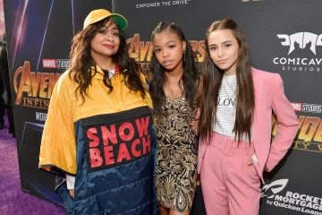 The Cast of 'Raven's Home' Meets Beyoncé at 'The Lion King' Premiere
