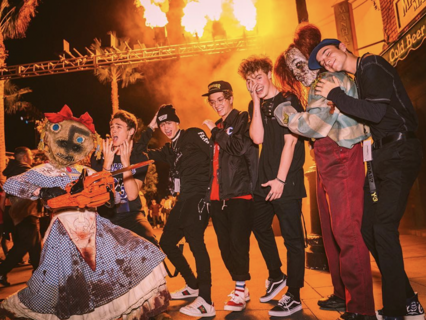 Why Don't We, Maddie Ziegler and More Brave Universal Studios' Horror Nights