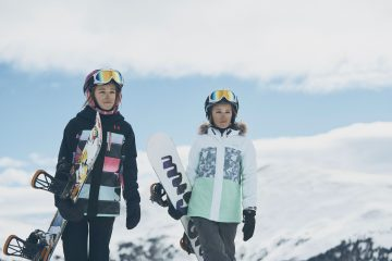 Meet Twin Snowboarders Devin & Barret Hendrix And Win An Under Armour Winter Jacket