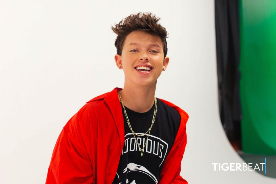 Watch: Behind the Scenes of Jacob Sartorius' TigerBeat Cover Photoshoot