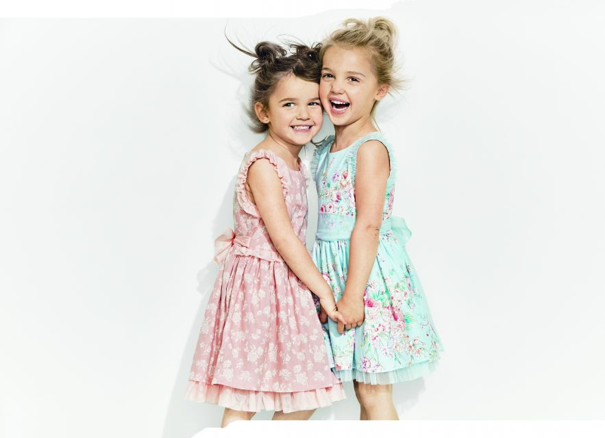 Instagram Stars Mila and Emma Stauffer Launch Kids' Clothing Line Sold at Target