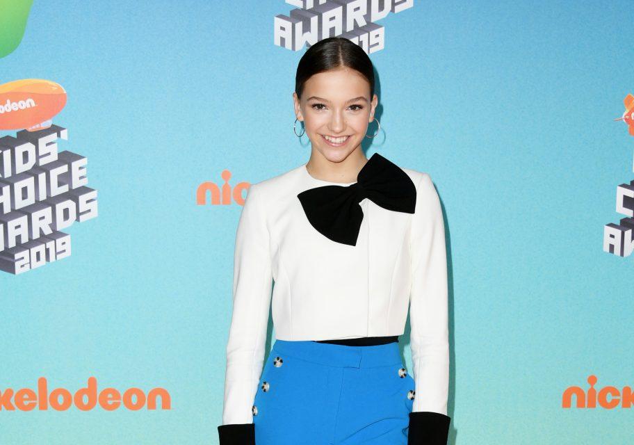 Jayden Bartels, Daniella Perkins and More Stun on Kids' Choice Awards Orange Carpet