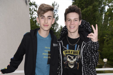 WATCH: Johnny Orlando and Hayden Summerall Take on YouTube's Makeup Challenge Using Love Kenzie Beauty