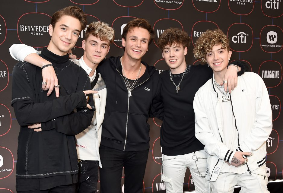 Why Don't We Thanks Fans for Voting Them Choice Music Group at the TCAs