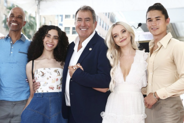 'Descendants' Director Kenny Ortega Accepts Hollywood Walk of Fame Star Beside Cameron Boyce's Family