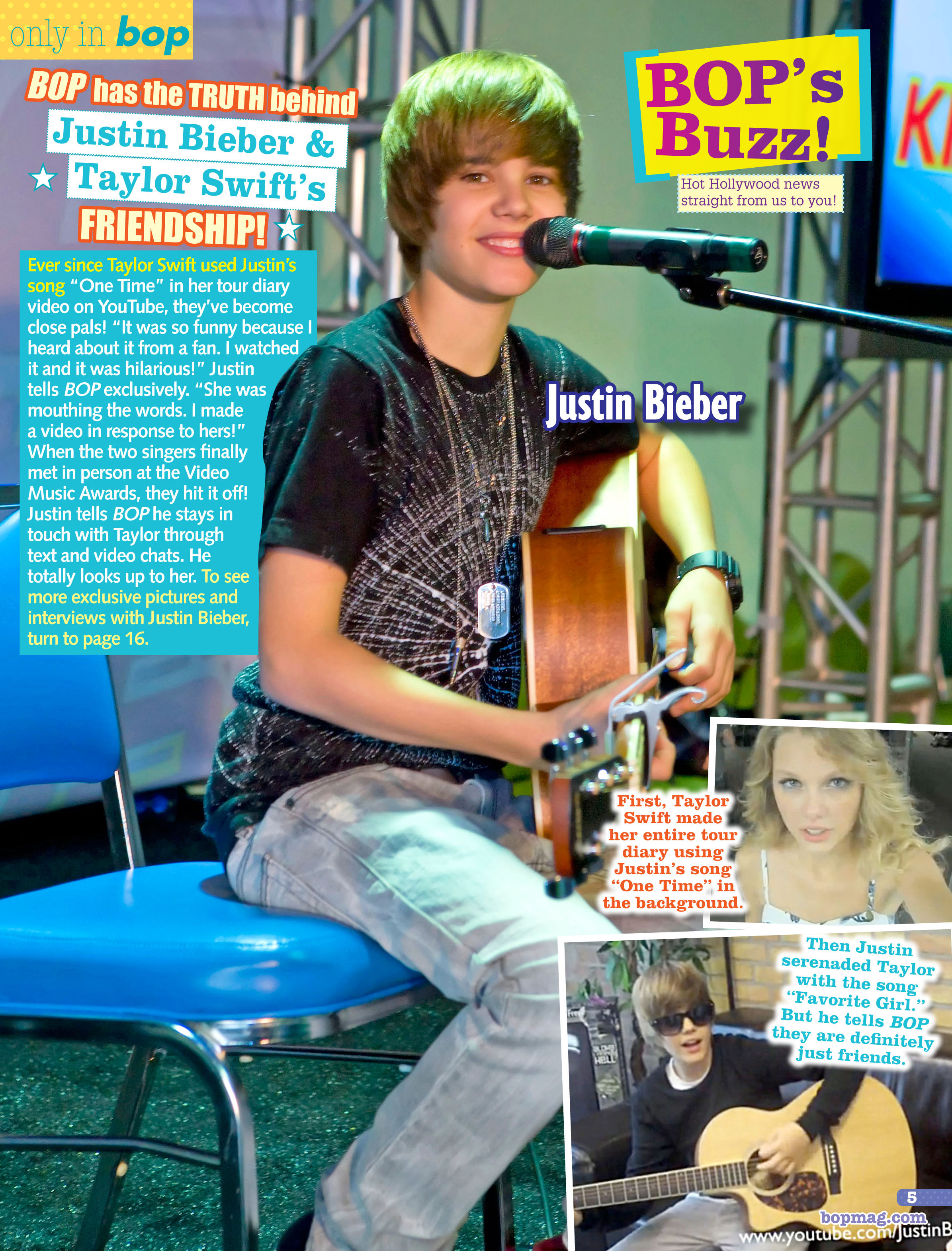 The TRUTH behind Taylor Swift & Justin Bieber's friendship REVEALED!