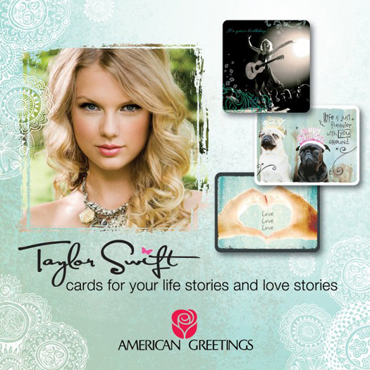 Taylor swift helps to write inspirational cards that fans can buy taylor swift writes more inspirational cards for fans american greetings company m4hsunfo