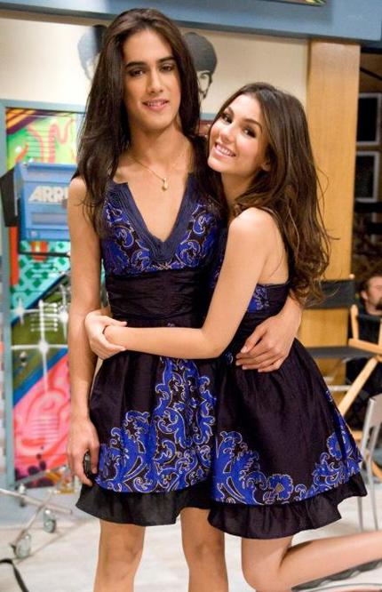 Does Victoria Justice Have a Secret Twin Sister?