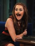 Miley's Mustache