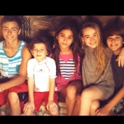 Peyton, August, Rowan, Sabrina and Corey